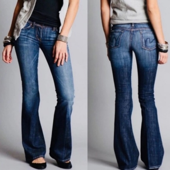 Citizens Of Humanity Denim - Citizens of Humanity, Low Waist Flair, Ingrid #002